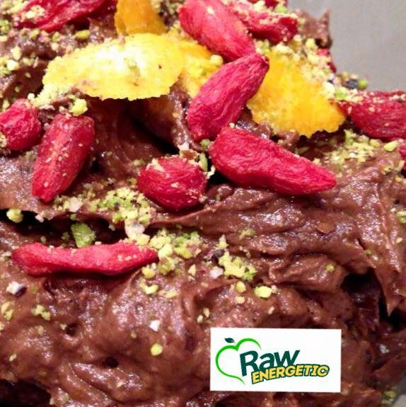 Raw dolce Mousse al Cacao