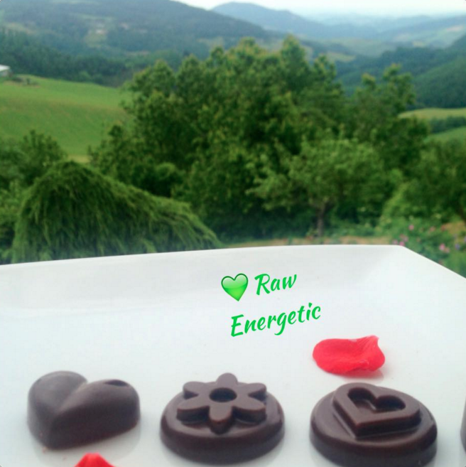 Cioccolato RAW di Rawn Energetic